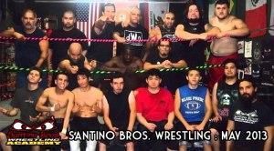 Santino bros training photo