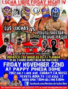 night of lucha 11-22-13