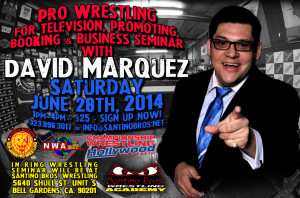 David-Marquez-Seminar-June 28th flyer