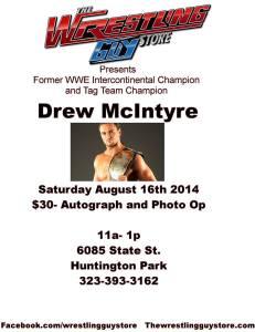 Drew McIntyre 8-16-14 flyer
