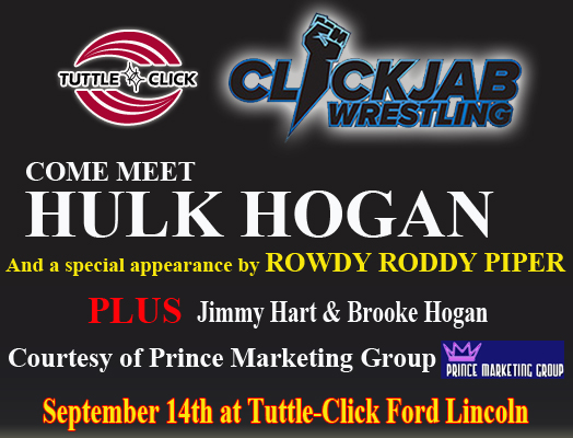 Tuttle Click Ford >> Meet Wwe Hall Of Famers The Immortal Hulk Hogan Rowdy