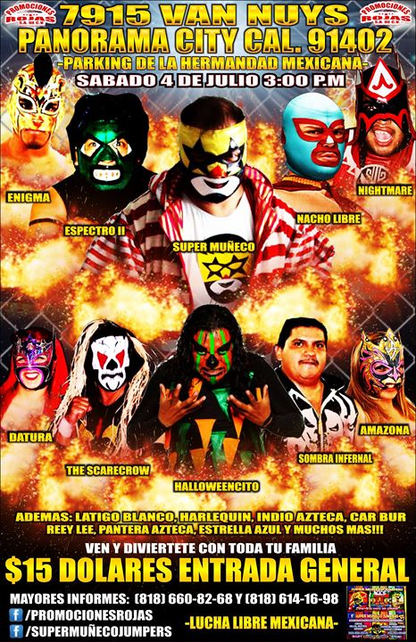 Lucha Libre Mexicana in Panorama City, Ca ...