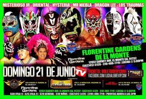 Lucha Libre VIP 6-21-15