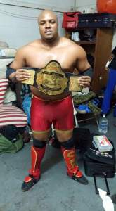 Sean Black NEW UEW Champion 10-31-15