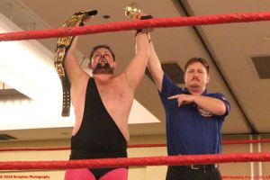 Rik Luxury wins the Roland Alexander Memorial  Battle Royal
