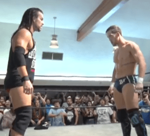 Adam Cole faces off against a returning Kyle O'Reilly in PWG