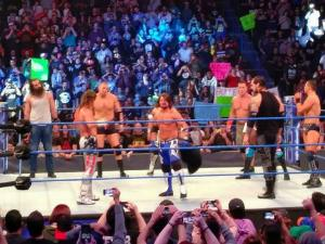 WWE: 10 Man Battle Royal (Smackdown) 2-21-17