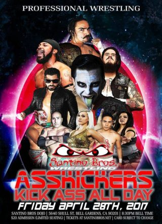 Santino Bros Wrestling Presents Ass Kickers Kick Ass All Day In Bell Gardens Ca