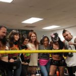 Chavo Guerrero Jr., Sage Sin, Jackie Tohn, Rebekka Johnson, Kate Nash, Ellen Wong, Candy White, and Steve Pain