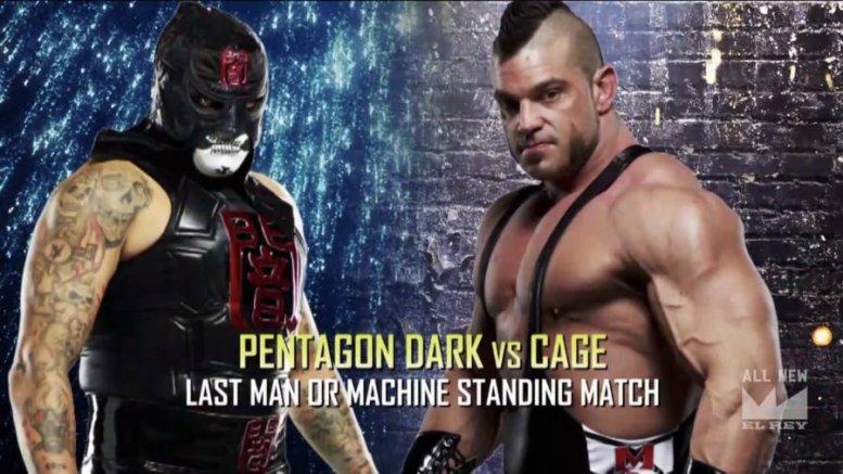 Lucha Underground Season 4, Episode 11- Last Man (or Machine) Standing