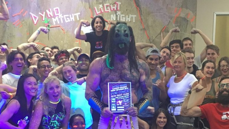 Luchasaurus at Boulderdash SFV after MPW on September 20th, 2019 in Chatsworth, CA