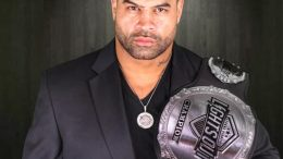 Former San Diego Charger and co-founder of LXF Shawne Merriman (Courtesy of Lights Out Xtreme Fighting)