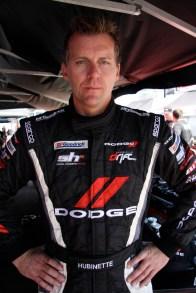 Samuel Hubinette of Samuel Hubinette Racing (SHR)/Dodge Motorsports Dodge Challenger