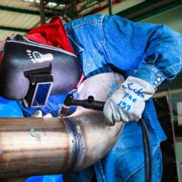 WLDG1120 - Fabrication III (Fabrication with pipe) 1