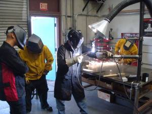 Welding Corporate Training Demonstration