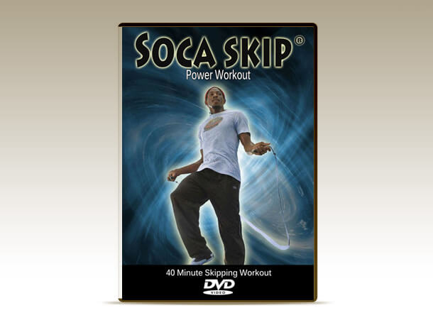 The long awaited 40 minute Skipping Workout DVD