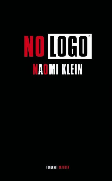 Cover of Naomi Klein's book 'No Logo'.