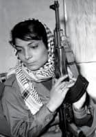 Ikonisk billede af flykapreren Leila Khaled, 1970