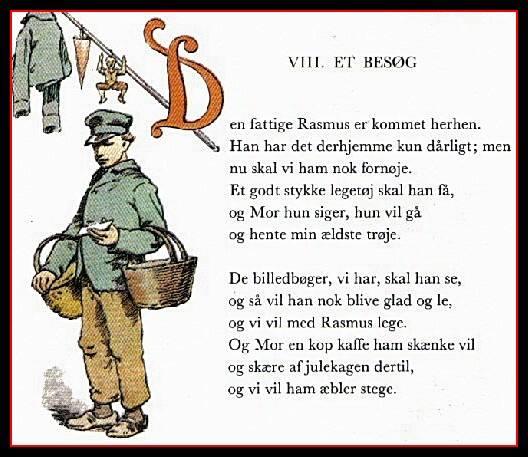 Rasmus - Illustration: Herluf Jensenius i Peters Jul (1947-udgaven).