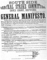 South central Strike Committee: Generel Manifesto.