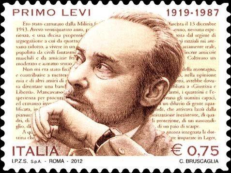 Frimærke med Primo Levi