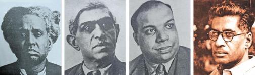 Indiske kommunister på Kominterns 3. kongres
