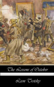 Cover of Leon Trotsky: Lesson of October.