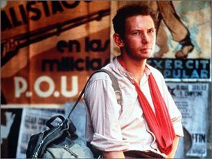 """Ken Loach's """"Land & Freedom"""" on the Spanish Civil War, starring Ian Hart as a disillusioned Liverpudlian who joins the fight against fascism and Franco"""
