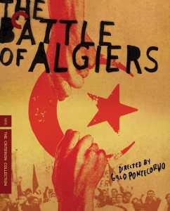 Engelsksproget filmplakat fra filmen Slaget om Algier.
