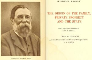 """Engelsk udgave af """"The Origin of Family, Private Property and the State"""", 1892"""