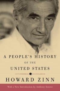 Cover of A Peoples History of The United States By Howard Zinn
