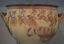 Mycenae, Warrior's Vase, c1500 Helladic Period/Civilization