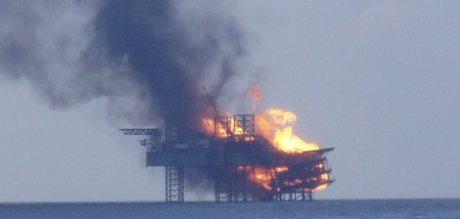 Olierig eksplosion Deepwater Horizon 2010
