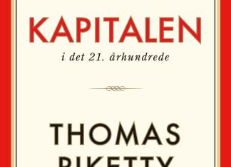 Forside på Thomas Piketty: Kapitalen. Gyldendal 2014.
