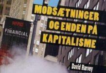Omslag på Davide Harveys bog: 17 modsætninger og enden på kapitalisme. Solidaritets Forlag