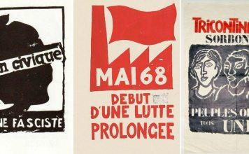3 plakater fra Paris Mai 1968
