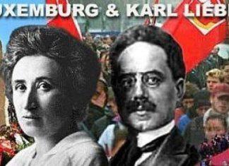 Rosa Luxemburg og Karl Liebknecht