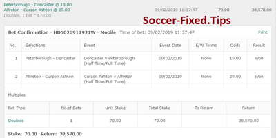Fixed Match Offer, paid sure matches, today winning tips