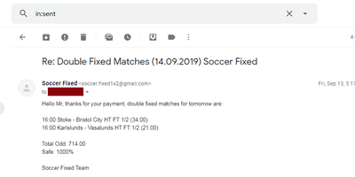 Insider Fixed Matches