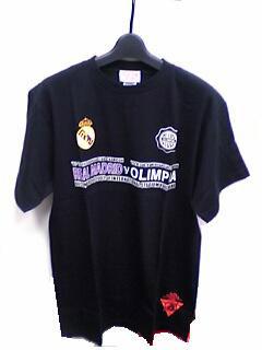 トヨタカップ 第23回レアルマドリード対オリンピア 記念Tシャツ(ブラック)