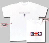 イングランド バックプリントTシャツ