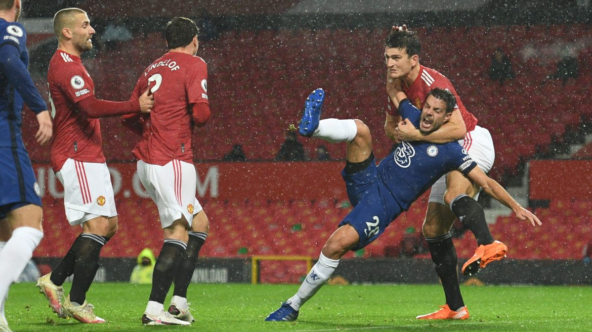 Lampard, Azpilicueta, Ole on 'that' non-penalty at Man United - Chelsea