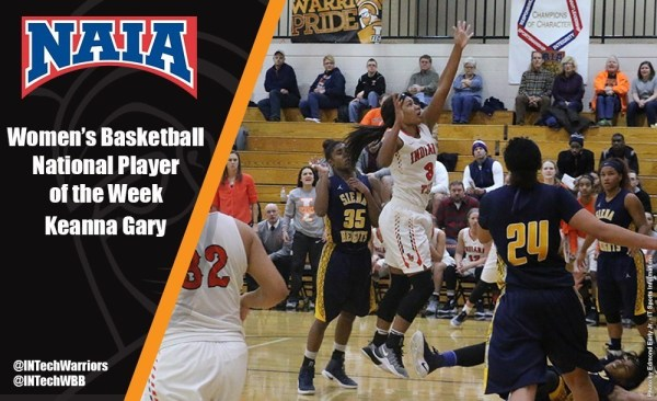 Indiana Tech's Gary Named NAIA National Player of the Week ...