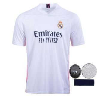 Camiseta Real Madrid Jerseys 2021 Soccer Jersey madrid HAZARD SERGIO RAMOS BENZEMA maillot de foot camiseta de fútbol 20 21 Football Shirt