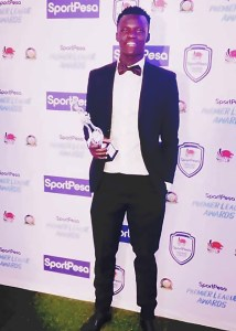Kevin Omondi wins Kenya Premier League Golden Glove Award