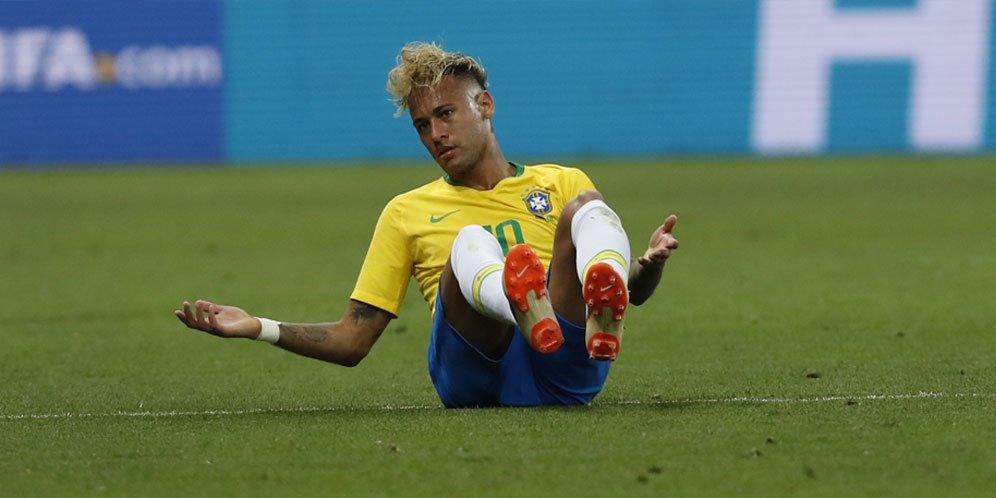 Cedera Kembali Membayangi Neymar