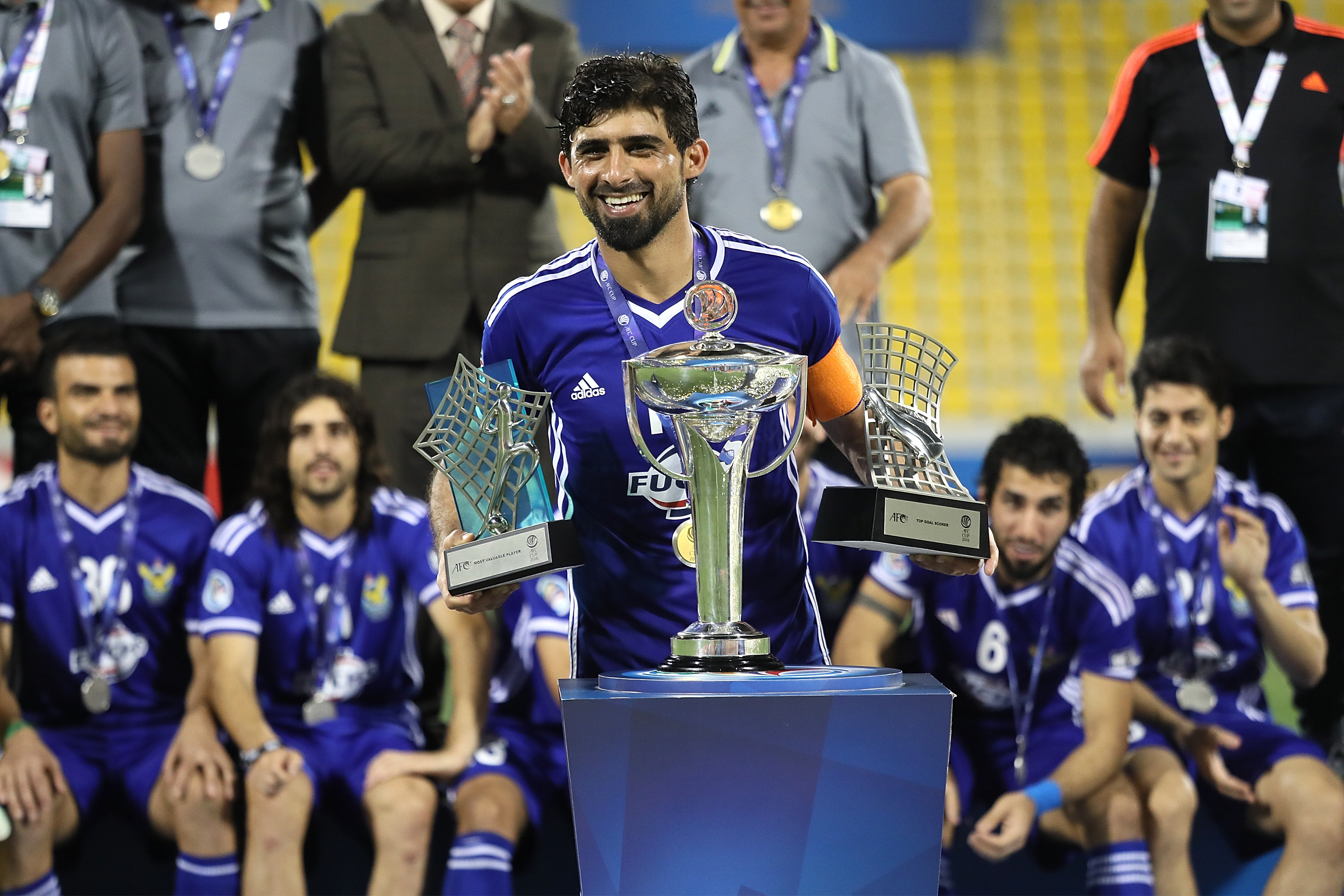 Five talents who could leave the Iraqi League for a move overseas