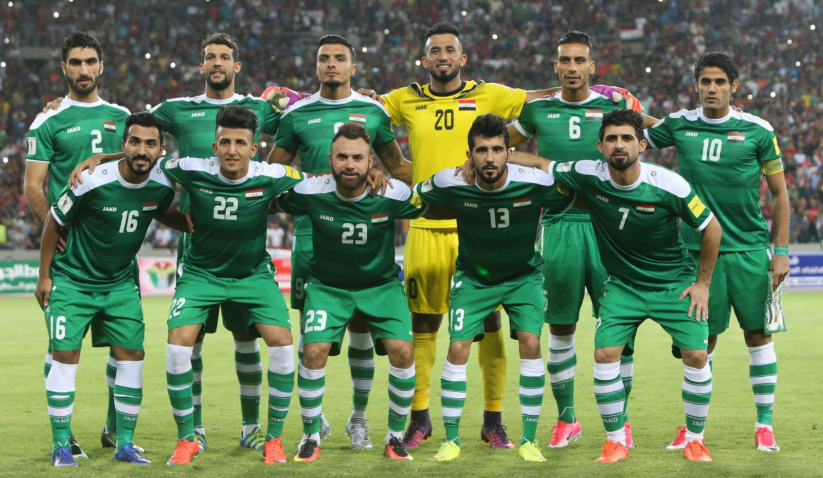 Iraq Jako home jersey back by popular demand