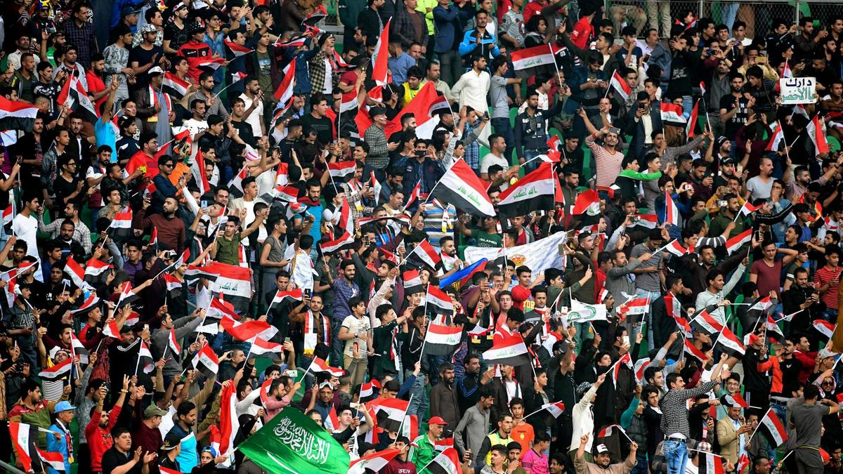 FIFA has lifted the ban on Iraqi stadiums