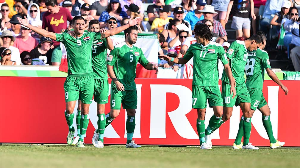 Iraq drawn with rivals Iran in Group D of the Asian Cup
